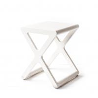Tabouret X Stool - Cérusé Blanc