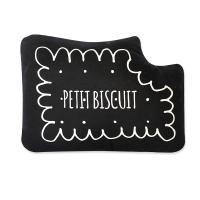 Coussin Petit Biscuit - Noir