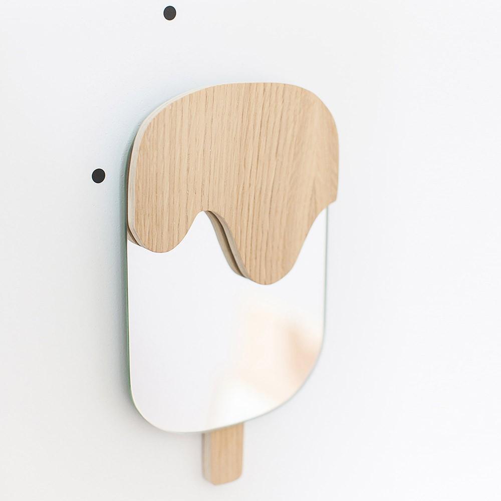Miroir esquimau April Eleven pour chambre enfant - Les Enfants du Design