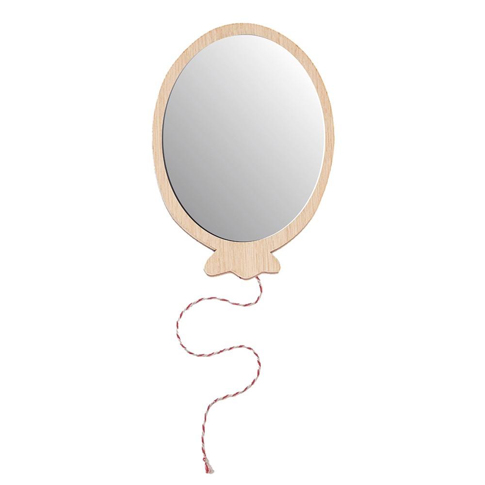 Miroir ballon april eleven pour chambre enfant les for Miroir chambre design