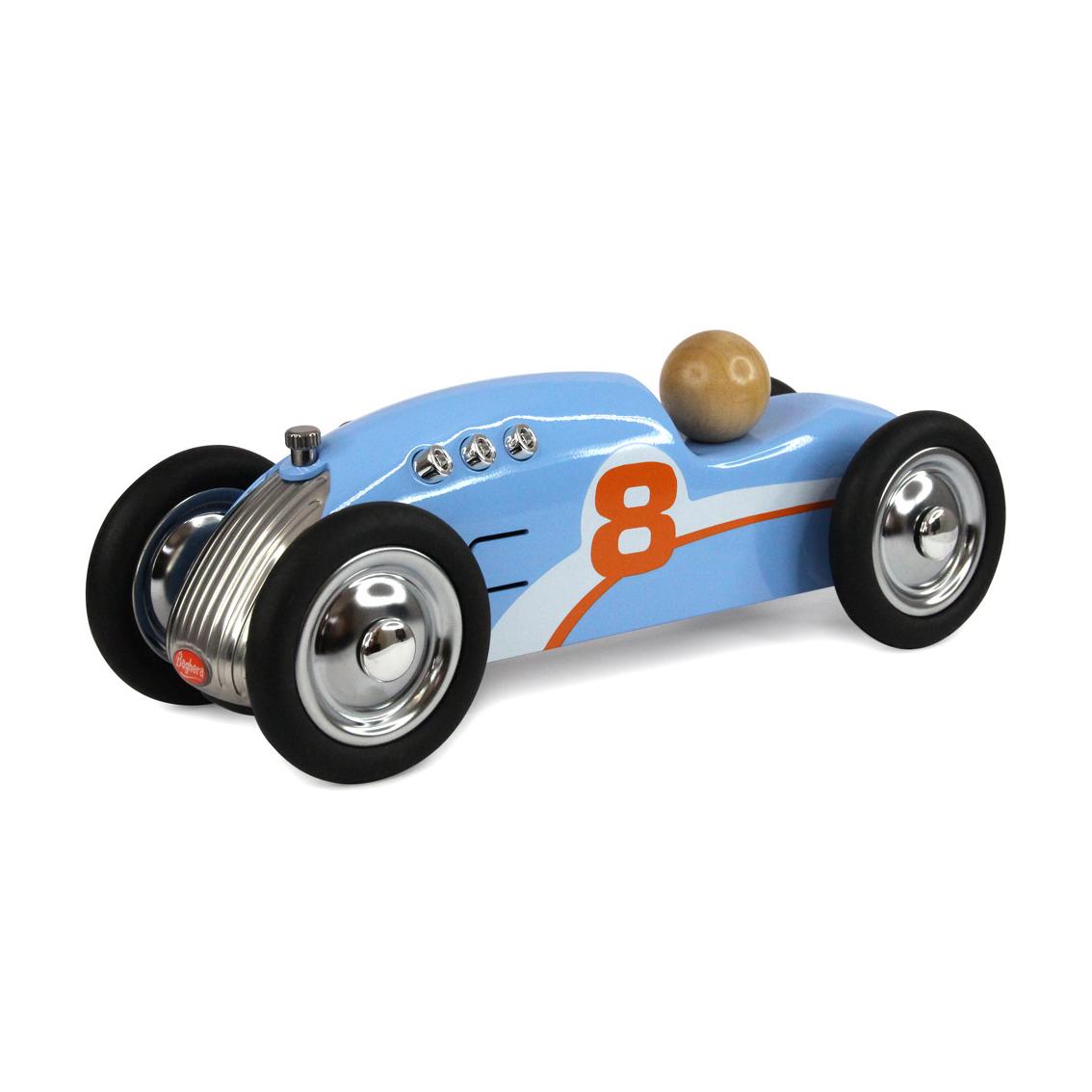 Voiture en m tal rocket bleu baghera pour chambre enfant - Garage metallique pour voiture ...