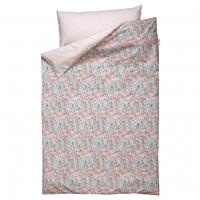 parure de lit flower 140 x 200 cm fuchsia bibelotte parures de lit design pour