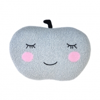 Coussin Pomme - Gris