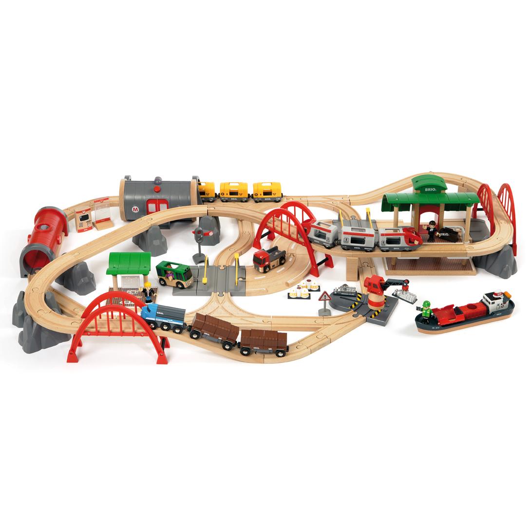 Circuit Chemin De Fer De Luxe Brio Pour Chambre Enfant
