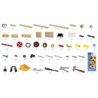 Coffret activité Builder 211 pièces