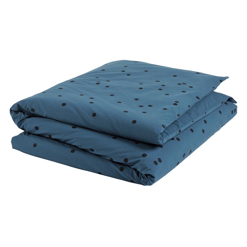 housse de couette odette bleu canard la cerise sur le g teau pour chambre enfant les enfants. Black Bedroom Furniture Sets. Home Design Ideas