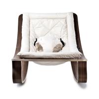Transat bébé Levo Noyer - Gentle White - Blanc