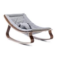 Transat bébé Levo Noyer - Sweet Grey - Gris