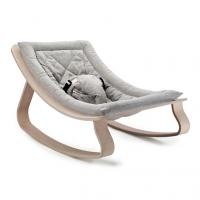 Transat bébé Levo Hêtre - Sweet Grey - Gris