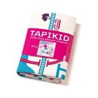 Tapis de jeu Tapikid - Bleu/fuchsia