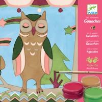 Atelier Gouaches - Les Animaux D'Aiko