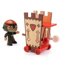Chevalier Darius & Ze Attack Tower - Arty Toys