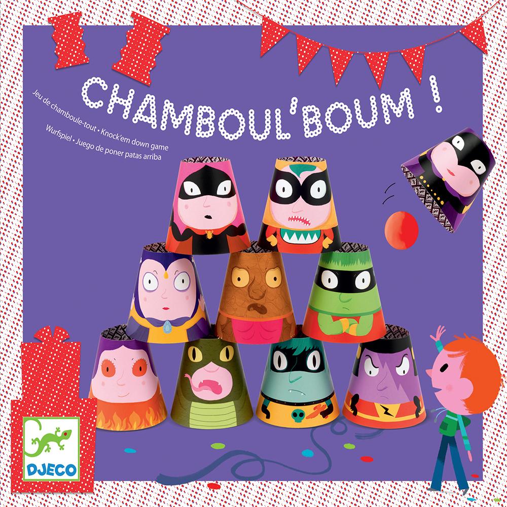 jeu anniversaire chamboul 39 boum djeco pour chambre enfant les enfants du design. Black Bedroom Furniture Sets. Home Design Ideas