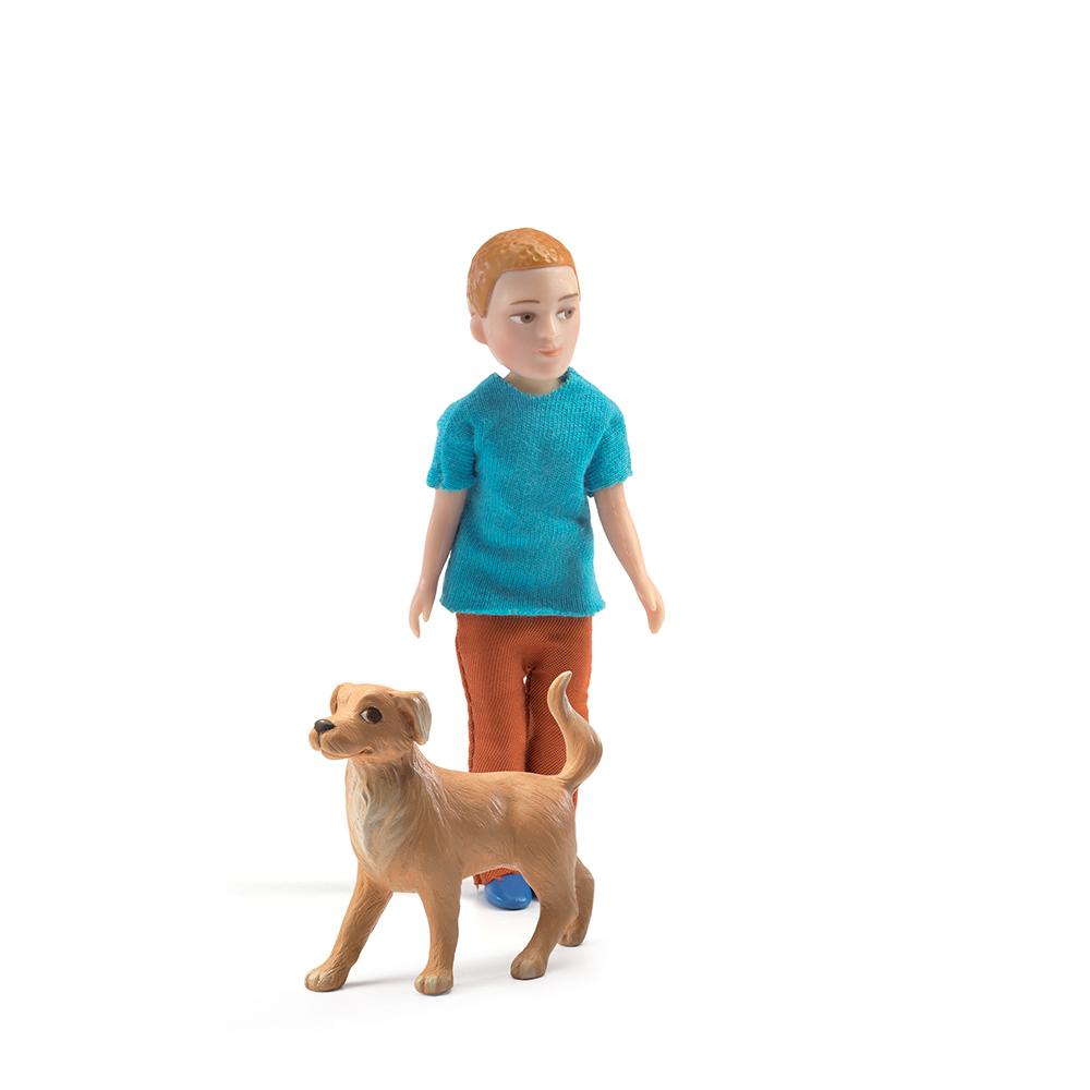 Xavier et son chien djeco pour chambre enfant les enfants du design - Les enfants du design ...