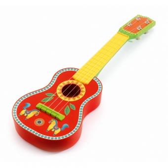 guitare animambo djeco pour chambre enfant les enfants. Black Bedroom Furniture Sets. Home Design Ideas