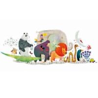 Puzzle géant - La Parade des animaux