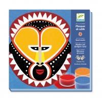 Atelier Sables colorés - Masques Arts Premiers