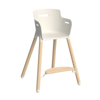 Chaise haute évolutive - Hêtre