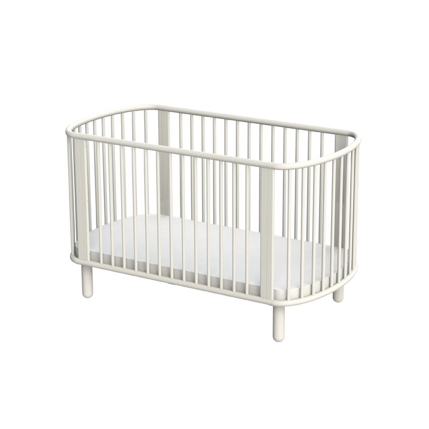 lit b b volutif blanc flexa pour chambre enfant les enfants du design. Black Bedroom Furniture Sets. Home Design Ideas