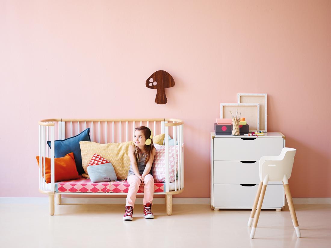 lit bb volutif blanc flexa pour chambre enfant les enfants du design - Chambre Bebe Design Scandinave