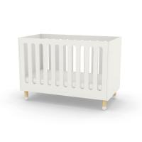 Lit bébé à barreaux - Blanc