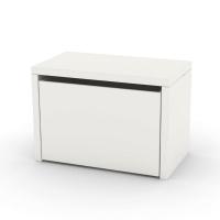 Chevet coffre de rangement - Blanc