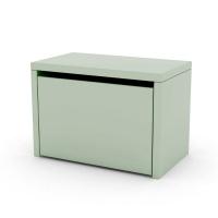 Chevet coffre de rangement - Vert d'eau