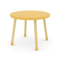 Petite table - Jaune or