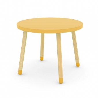 Petite table - Jaune or