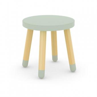 tabouret enfant vert d 39 eau flexa play pour chambre. Black Bedroom Furniture Sets. Home Design Ideas