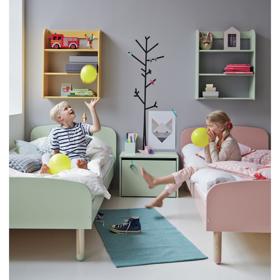fabulous lit enfant vert dueau flexa play pour chambre enfant les enfants du design with vert d. Black Bedroom Furniture Sets. Home Design Ideas