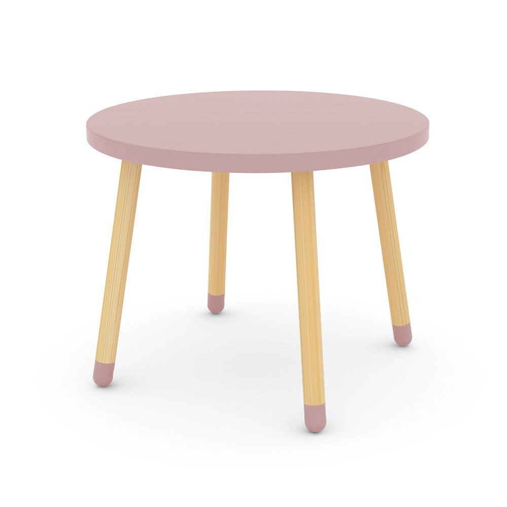 Petite table rose poudr flexa play pour chambre enfant for Table de dessin architecte