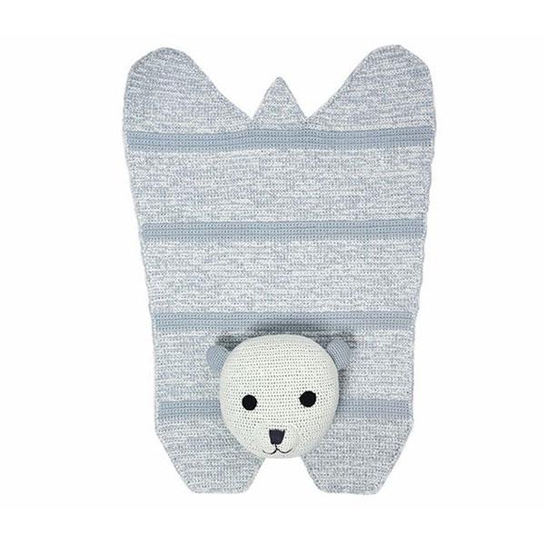 tapis ours polaire franck fischer pour chambre enfant les enfants du design. Black Bedroom Furniture Sets. Home Design Ideas