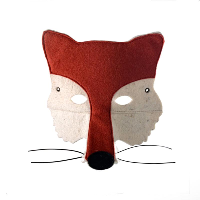 Masque renard frida 39 s tierchen pour chambre enfant les enfants du design - Masque de renard a imprimer ...