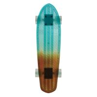 Skateboard Bantam Light blue/Amber Fade