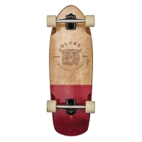 Skateboard Stubby Half Dip Natural/Red