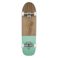 Skateboard Half Dip Completes Walnut/Mint