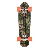 Skateboard Graphic Bantam Camo/Orange