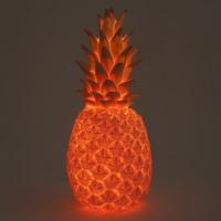 Lampe veilleuse Ananas - Rose poudré