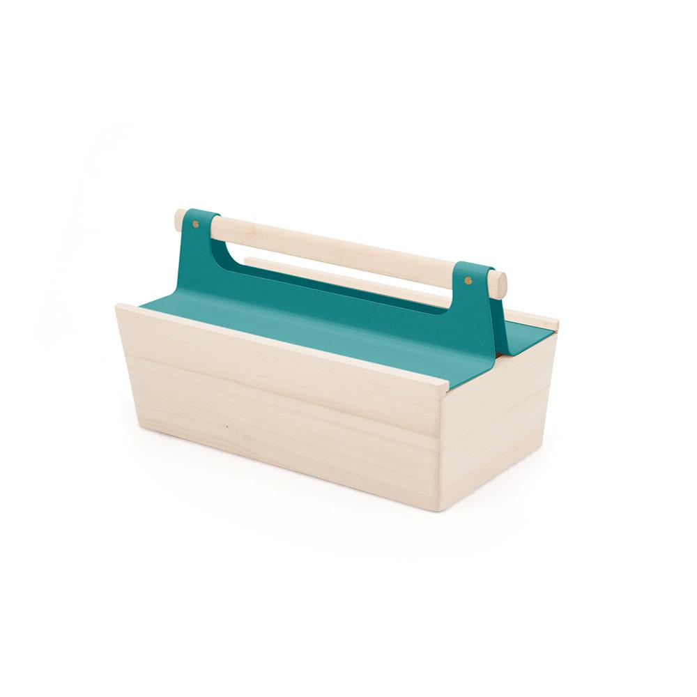 bo te outils louisette bleu d 39 eau hart pour chambre enfant les enfants du design. Black Bedroom Furniture Sets. Home Design Ideas