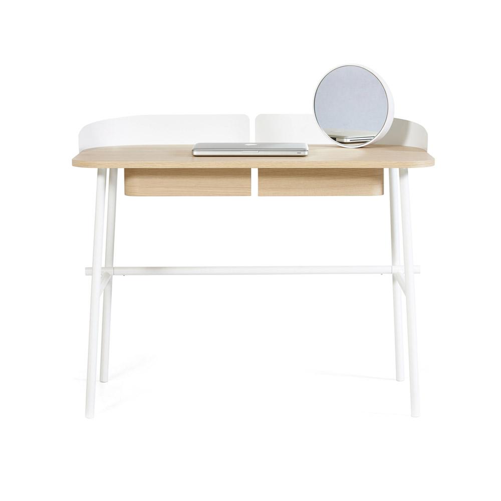 bureau victor blanc hart pour chambre enfant les enfants du design. Black Bedroom Furniture Sets. Home Design Ideas