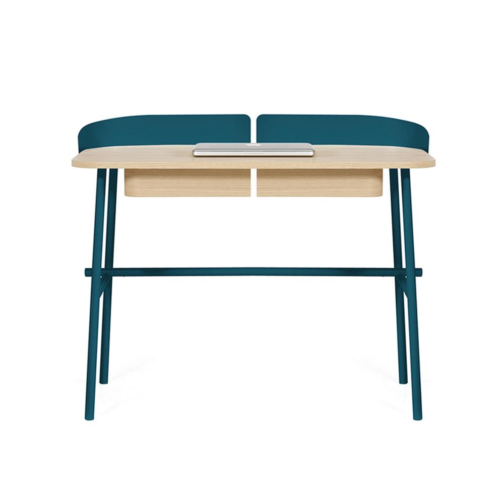 bureau victor bleu p trole hart pour chambre enfant les enfants du design. Black Bedroom Furniture Sets. Home Design Ideas