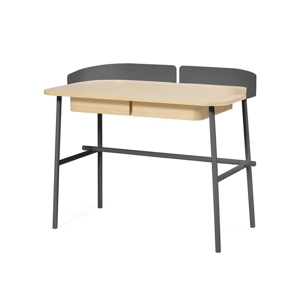 bureau victor gris ardoise hart pour chambre enfant les enfants du design. Black Bedroom Furniture Sets. Home Design Ideas