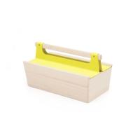 Boîte à outils Louisette - Jaune citron