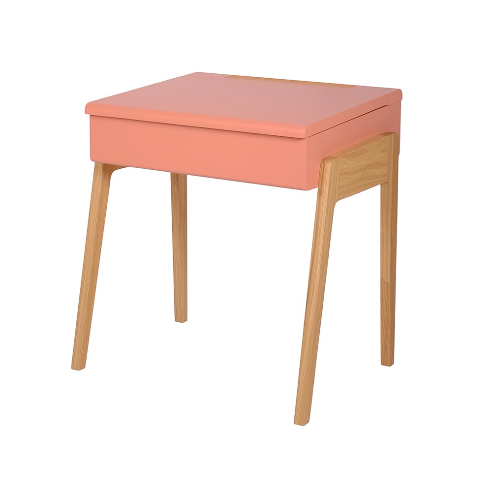 Bureau enfant my little pupitre vieux rose jungle by for Enfant design