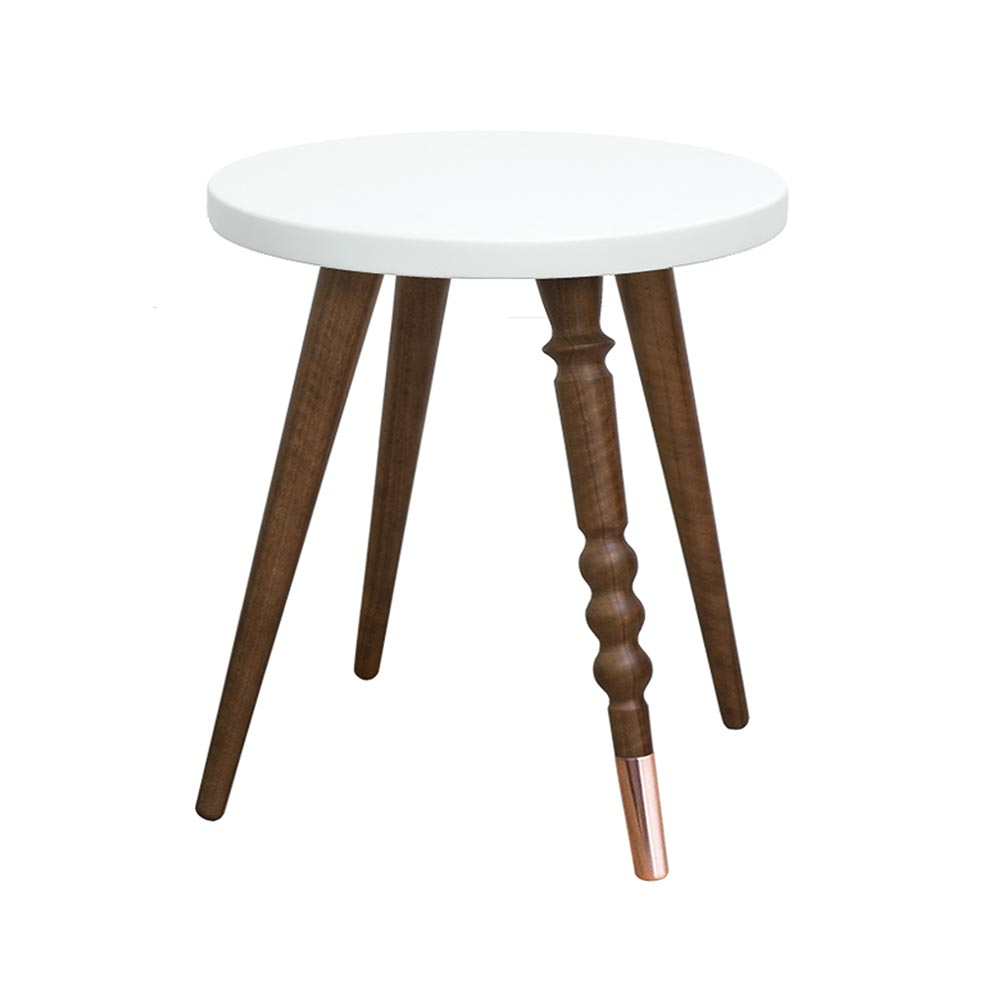 Table d 39 appoint my lovely ballerine cm noyer - Fabriquer une table d appoint ...