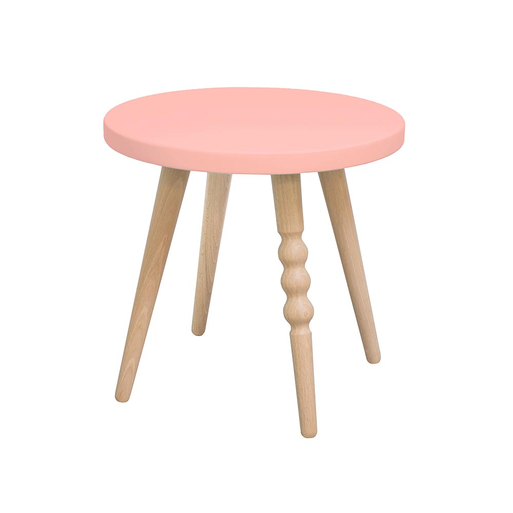tabouret my lovely ballerine vieux rose jungle by jungle pour chambre enfant les enfants. Black Bedroom Furniture Sets. Home Design Ideas