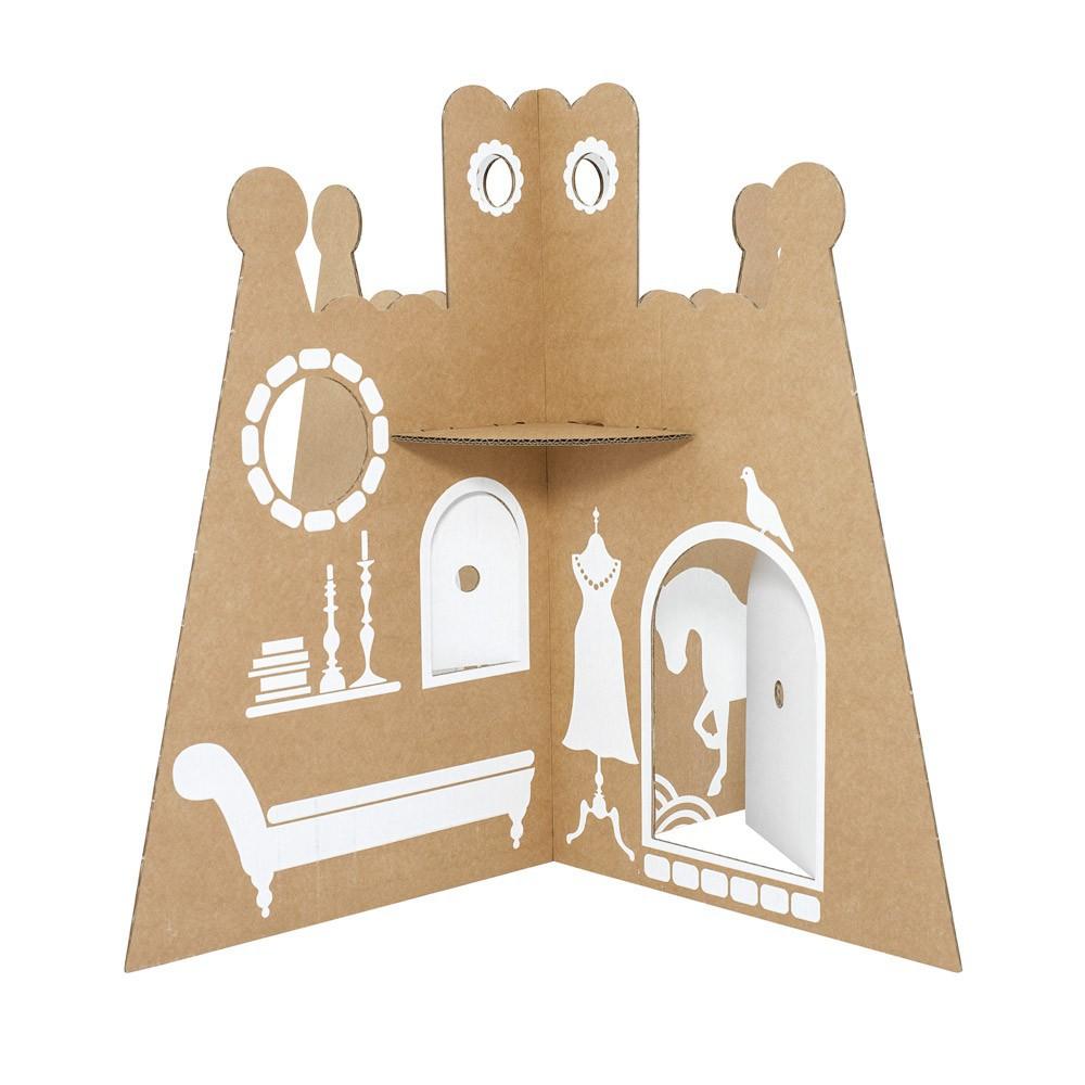ch teau de princesse en carton flatout frankie pour chambre enfant les enfants du design. Black Bedroom Furniture Sets. Home Design Ideas
