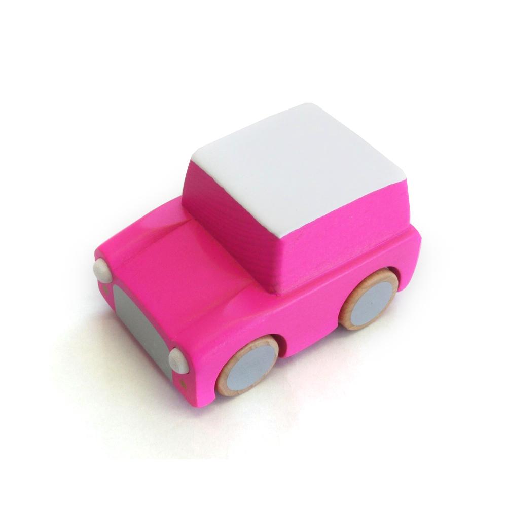 Voiture kuruma rose kiko pour chambre enfant les enfants du design - Les enfants du design ...