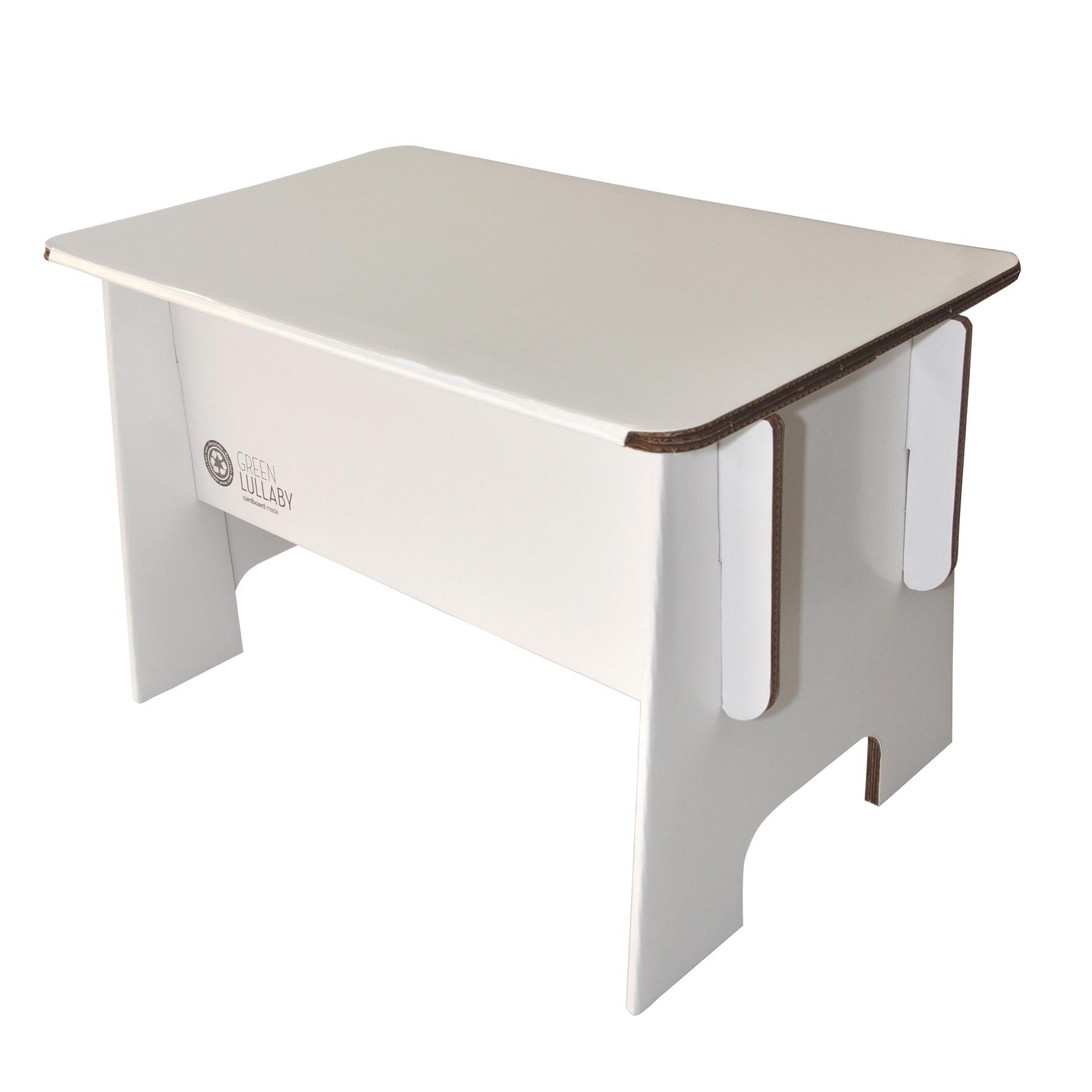 table en carton green lullaby pour chambre enfant les enfants du design. Black Bedroom Furniture Sets. Home Design Ideas